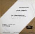 シューリヒトのワーグナー/管弦楽作品集  独DECCA 3027 LP レコード