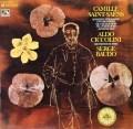 チッコリーニ&ボドのサン=サーンス/ピアノ協奏曲第3&5番「エジプト風」   独EMI 3028 LP レコード