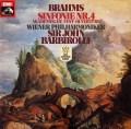 バルビローリのブラームス/交響曲第4番&大学祝典序曲    独EMI 3028 LP レコード