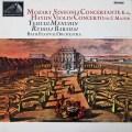メニューイン&バルシャイのモーツァルト/協奏交響曲ほか   英EMI 3028 LP レコード