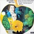 【オリジナル盤】ピアーズ、F-ディースカウ&ブリテンのブリテン/歌曲集  英DECCA 3028 LP レコード