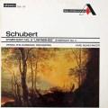ミュンヒンガーのシューベルト/交響曲第8番「未完成」&第2番  英DECCA 3028 LP レコード
