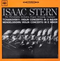 スターン&オーマンディのメンデルスゾーン&チャイコフスキー/ヴァイオリン協奏曲集  英CBS 3028 LP レコード