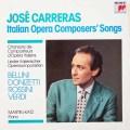 カレーラスのイタリア歌曲集  蘭CBS 3028 LP レコード