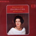 デラ・カーザのR.シュトラウス/歌曲集  独RCA 3028 LP レコード