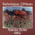 リヒテルのラフマニノフ/前奏曲集   独eurodisc 3028 LP レコード