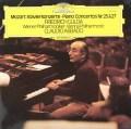 グルダ&アバドのモーツァルト/ピアノ協奏曲第25&27番    独DGG 3030 LP レコード