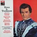 シッパース&コレッリのヴェルディ/「イル・トロヴァトーレ」抜粋    英EMI 3030 LP レコード