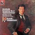 テンシュテットのマーラー/交響曲第2番「復活」    英EMI 3030 LP レコード