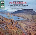 バルビローリのシベリウス/交響詩「フィンランディア」ほか    独EMI 3030 LP レコード