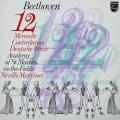 マリナーのベートーヴェン/「12のメヌエット」ほか   蘭PHILIPS 3030 LP レコード