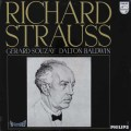 スゼー&ボールドウィンのR.シュトラウス/歌曲集    蘭PHILIPS 3030 LP レコード