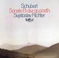 リヒテルのシューベルト/ピアノソナタ第21番   独eurodisc 3030 LP レコード