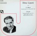 リパッティ&ベイヌムのバッハ/ピアノ協奏曲第1番ほか  スイスJecklin 3030 LP レコード