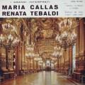 カラス&テバルディ/オペラ・アリア集  伊CETRA 3030 LP レコード