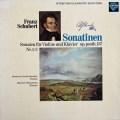 ラウテンバッハーのシューベルト/ヴァイオリンソナタ集  独SAPHIR 3032 LP レコード