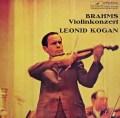 コーガン&コンドラシンのブラームス/ヴァイオリン協奏曲   独ETERNA 3032 LP レコード
