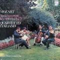 イタリア四重奏団のモーツァルト/弦楽四重奏曲第9〜12番   蘭PHILIPS 3032 LP レコード