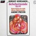 プレヴィンのリムスキー=コルサコフ/交響組曲「シェヘラザード」   蘭PHILIPS 3032 LP レコード