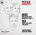 カサドシュ親子&オーマンディのモーツァルト&バッハ/3台のピアノのための協奏曲集   独CBS 3032 LP レコード