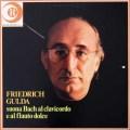 グルダのバッハ/半音階的幻想曲とフーガほか 伊RICORDI 3037 LP レコード