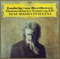 ポリーニのベートーヴェン/「ハンマー・クラヴィーア」ソナタ 独DGG 3038 LP レコード