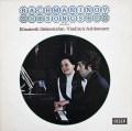 【オリジナル盤】 ゼーダーシュトレーム&アシュケナージのラフマニノフ/歌曲集 (Vol.2)  英DECCA 3038 LP レコード
