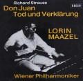 【直筆サイン入り】 マゼールのR.シュトラウス/交響詩「ドン・ファン」ほか 独DECCA 3038 LP レコード