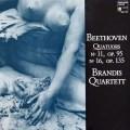 ブランディス四重奏団のベートーヴェン/弦楽四重奏曲第11&16番  仏HM    3038 LP レコード