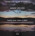 アルベルティのルーセル/ヴァイオリンソナタ第1&2番  仏Cybelia 3038 LP レコード