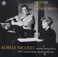 ニコレのフルート作品集 バッハ/フルートソナタ(BWV1032)ほか  独Telefunken 3039 LP レコード