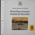 ブリュッヘンのヘンデル/ブロックフレーテと通奏低音のための六つのソナタ集  独TELEFUNKEN 3039 LP レコード