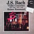 クスマウル&アムステルダム・バッハ・ソロイスツのバッハ/ヴァイオリン協奏曲集  蘭fidelio 3039 LP レコード