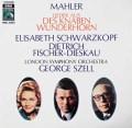 シュワルツコップ、フィッシャー=ディースカウ&セルのマーラー/少年の魔法の角笛 独EMI 3039 LP レコード