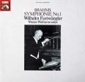 フルトヴェングラーのブラームス/交響曲第1番  英EMI 3039 LP レコード