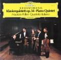 ポリーニ&イタリア四重奏団のブラームス/ピアノ五重奏曲    独DGG 3039 LP レコード