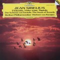 カラヤンのシベリウス/交響詩「フィンランディア」ほか 独DGG 3039 LP レコード