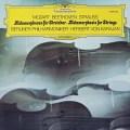 カラヤンのR.シュトラウス/「メタモルフォーゼン」ほか 独DGG 3040 LP レコード