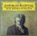 ポリーニのベートーヴェン/「ハンマー・クラヴィーア」ソナタ 独DGG 3040 LP レコード