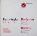フルトヴェングラーのベートーヴェン/交響曲第9番ほか 英UNICORN 3040 LP レコード