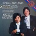 小澤&ヨーヨー・マのR.シュトラウス/「ドン・キホーテ」 蘭CBS 3040 LP レコード