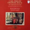 レッパードのC.P.E.バッハ/シンフォニア第1〜4番 蘭PHILIPS 3040 LP レコード