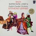 レッパードのバッハ/管弦楽組曲全曲 蘭PHILIPS 3040 LP レコード