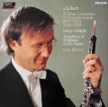 ホリガーのバッハ/オーボエ協奏曲集 蘭PHILIPS 3040 LP レコード