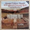 ピノックのヘンデル/12の合奏協奏曲  独ARCHIV 3040 LP レコード