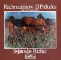 リヒテルのラフマニノフ/前奏曲集 独eurodisc 3041 LP レコード