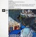ギーゼキングのラヴェル/ピアノ作品集 第2巻 仏Columbia 3041 LP レコード