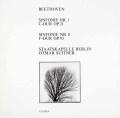 スウィトナーのベートーヴェン/交響曲第1&8番 独ETERNA 3041 LP レコード