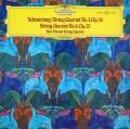 新ウィーン弦楽四重奏団のシェーンベルク/弦楽四重奏曲第3&4番 独DGG 3041 LP レコード