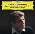 ギレリスのベートーヴェン/ピアノソナタ第23番「熱情」ほか 独DGG 3041 LP レコード
